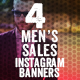 Men's Sales Instagram Banners