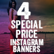 Special Price Instagram Banners