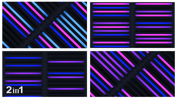 VideoHive Colorful Light Backgrounds 2-Pack 14580017
