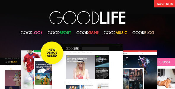 GoodLife - Responsive Magazine Theme