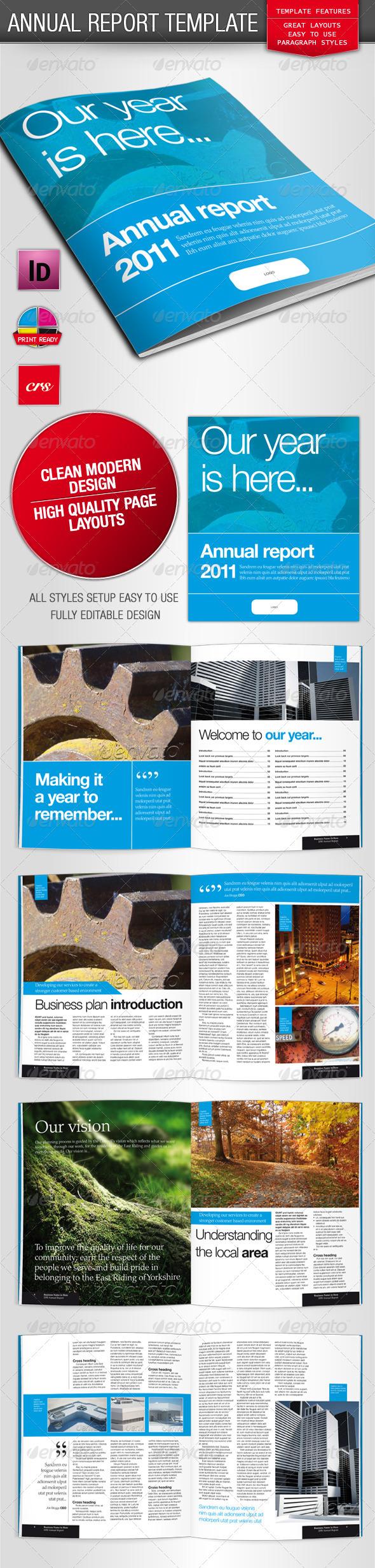 GraphicRiver Annual Report Brochure 212285