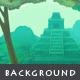 Mayan Temple - Game Background