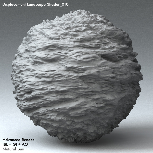 Displacement Landscape Shader_010 - 3DOcean Item for Sale