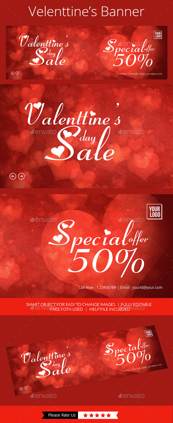 Valentine Offer Slider