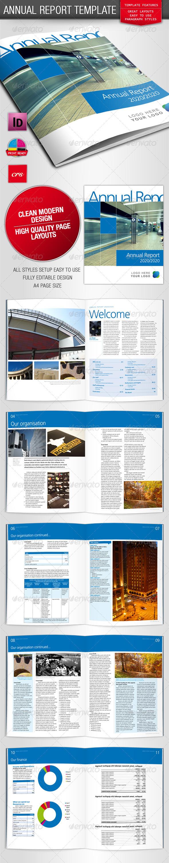 GraphicRiver Bright Annual Report Business Brochure 234634
