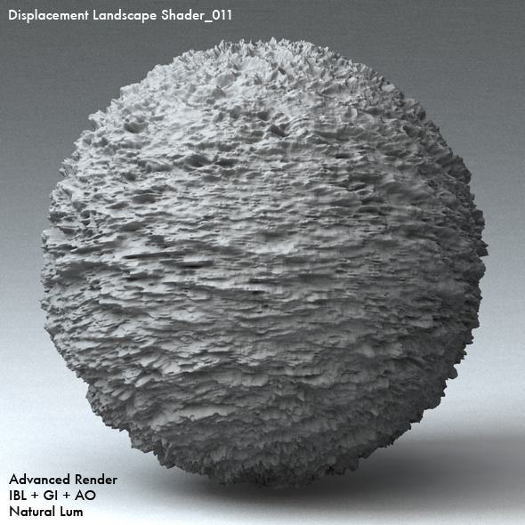 Displacement Landscape Shader_011 - 3DOcean Item for Sale