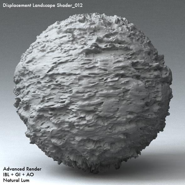 Displacement Landscape Shader_012 - 3DOcean Item for Sale