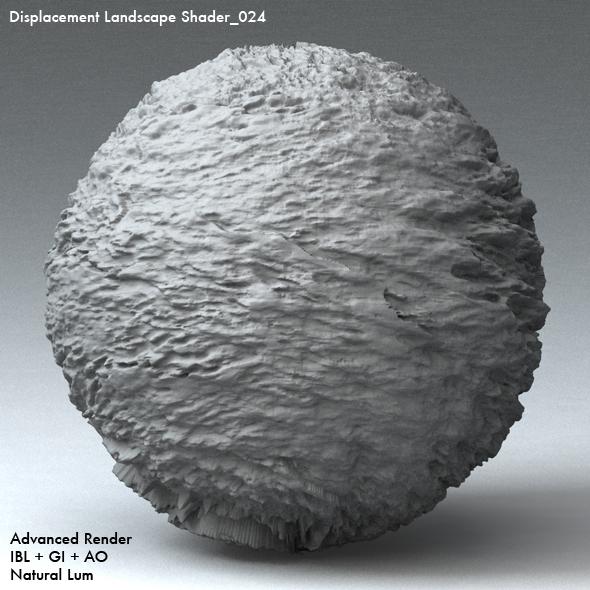 Displacement Landscape Shader_024 - 3DOcean Item for Sale