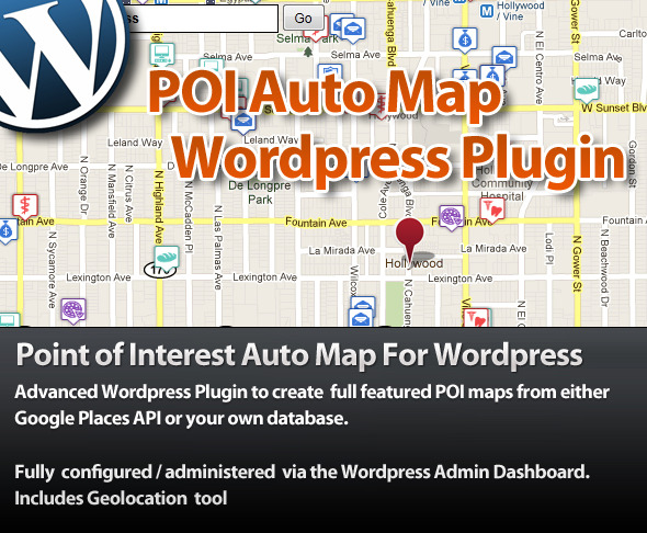 CodeCanyon Point Of Interest POI Auto Map For Wordpress 1379332