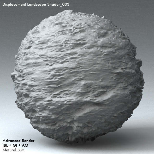 Displacement Landscape Shader_033 - 3DOcean Item for Sale