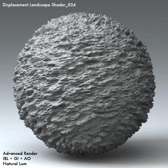 Displacement Landscape Shader_034 - 3DOcean Item for Sale