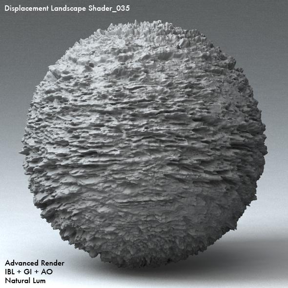 Displacement Landscape Shader_035 - 3DOcean Item for Sale