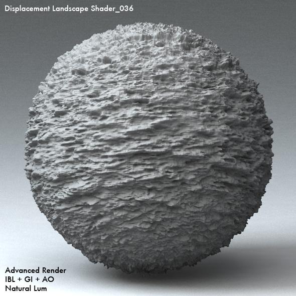 Displacement Landscape Shader_036 - 3DOcean Item for Sale