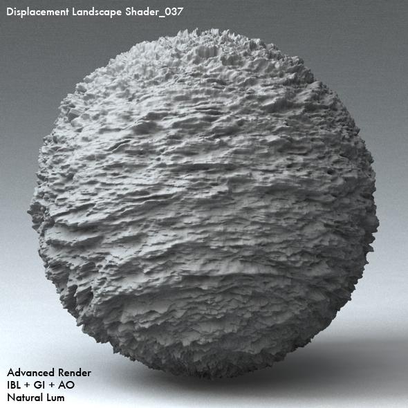 Displacement Landscape Shader_037 - 3DOcean Item for Sale