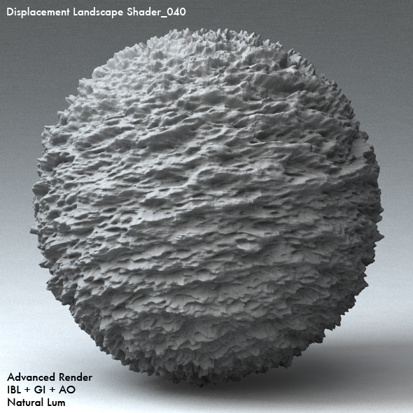 Displacement Landscape Shader_040 - 3DOcean Item for Sale