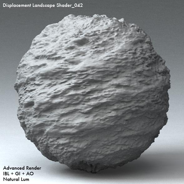 Displacement Landscape Shader_042 - 3DOcean Item for Sale