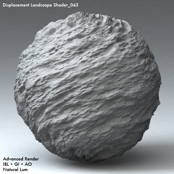 Displacement Landscape Shader_043 - 3DOcean Item for Sale
