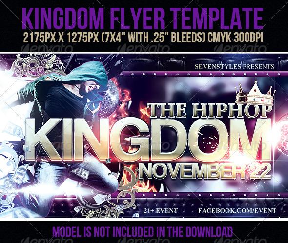 GraphicRiver Kingdom Flyer Template 713776