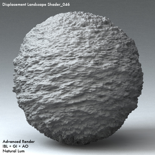 Displacement Landscape Shader_046 - 3DOcean Item for Sale