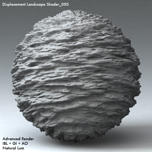 Displacement Landscape Shader_050 - 3DOcean Item for Sale