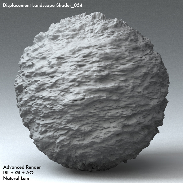 Displacement Landscape Shader_054 - 3DOcean Item for Sale