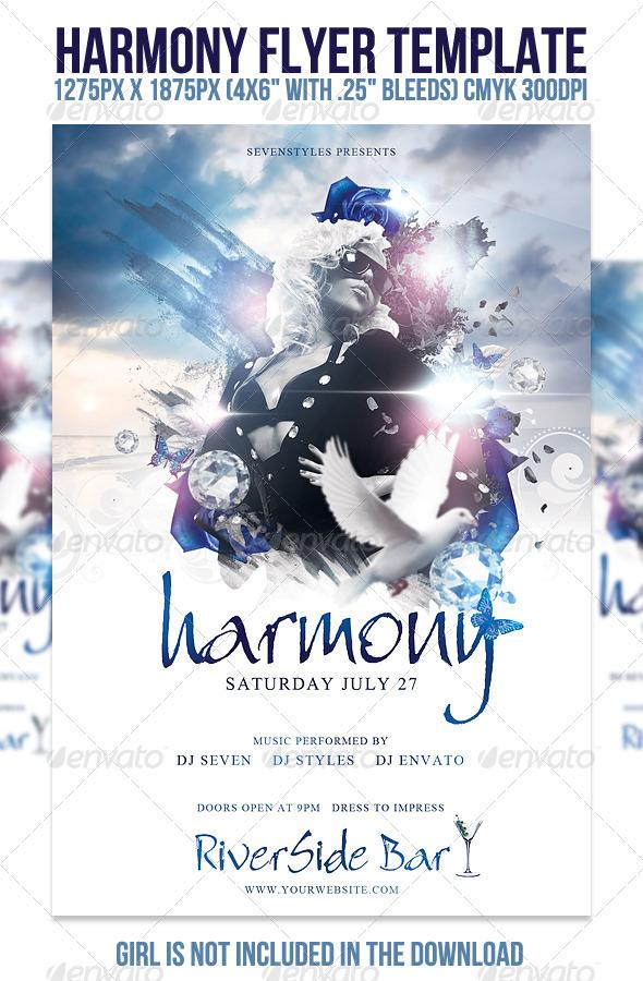 GraphicRiver Harmony Flyer Template 400715