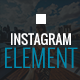 Instagram Element – Cornerstone Element for WordPress (Social Networking)