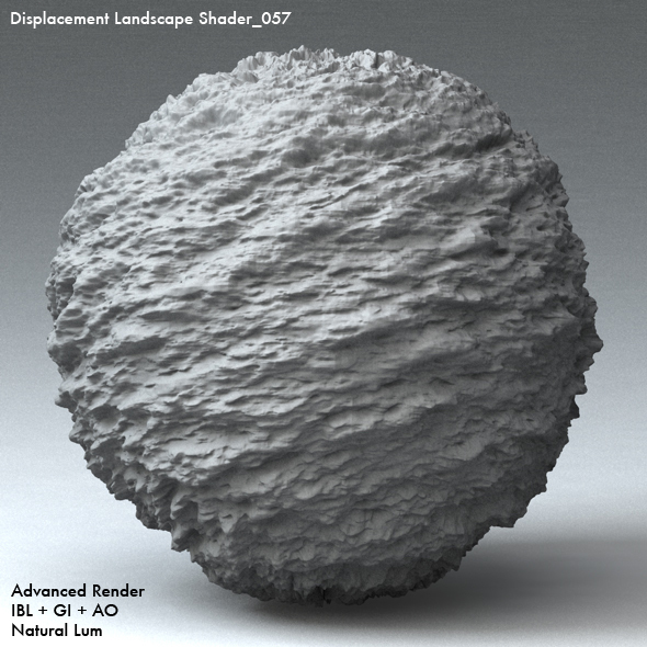 Displacement Landscape Shader_057 - 3DOcean Item for Sale
