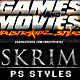 Game and Movies Photoshop Styles  - GraphicRiver Item for Sale