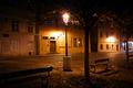 beautiful night view of the street in Prague - PhotoDune Item for Sale