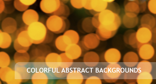 Blurred colorful abstract backgrounds