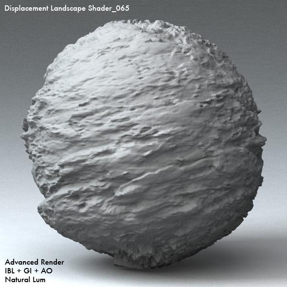 Displacement Landscape Shader_065 - 3DOcean Item for Sale