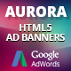 Free Download HTML5 Animated Banner Templates | «AURORA» Nulled