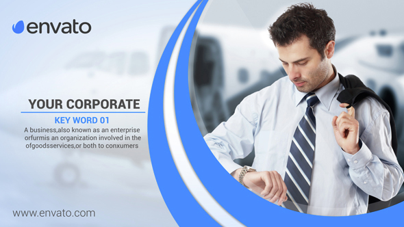 Business profile display corporate after effects for Company profile after effects templates free download