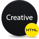 CREATIVE | HTML/CSS PORTFOLIO TEAMPLATE - ThemeForest Item for Sale