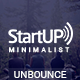 Startup - Minimalist Responsive Unbounce Template
