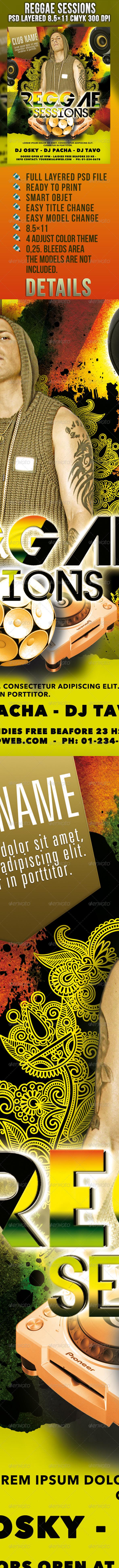 GraphicRiver Reggae Sessions 1215626