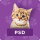 Pet & Shop | Premium Pet Care PSD Template
