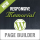 Memorial: Niche WordPress Theme for Funeral Homes with Obituaries Feature