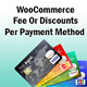WooCommerce Fee Or Discounts Per Payment Method (Miscellaneous)