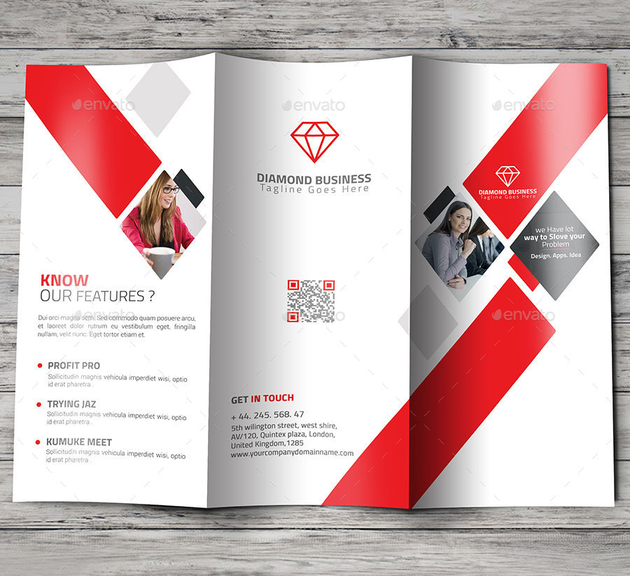 Awesome tri fold brochure by sixlock graphicriver for Awesome tri fold brochure design