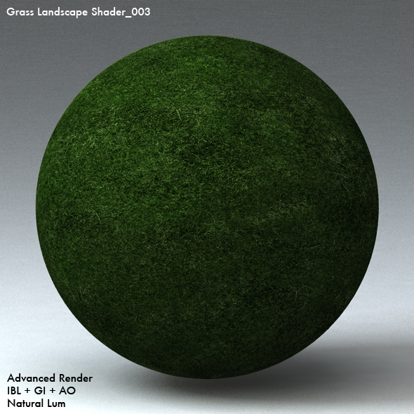 Grass Landscape Shader_003 - 3DOcean Item for Sale