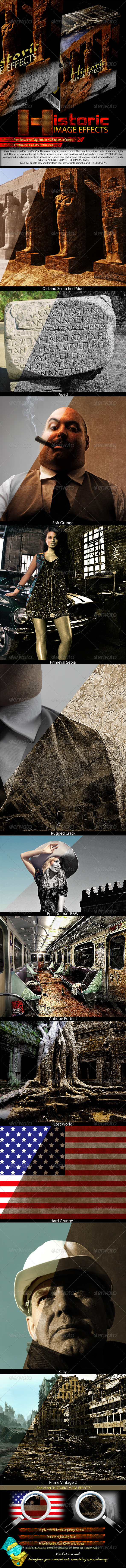 GraphicRiver Historic Image Effects 721951