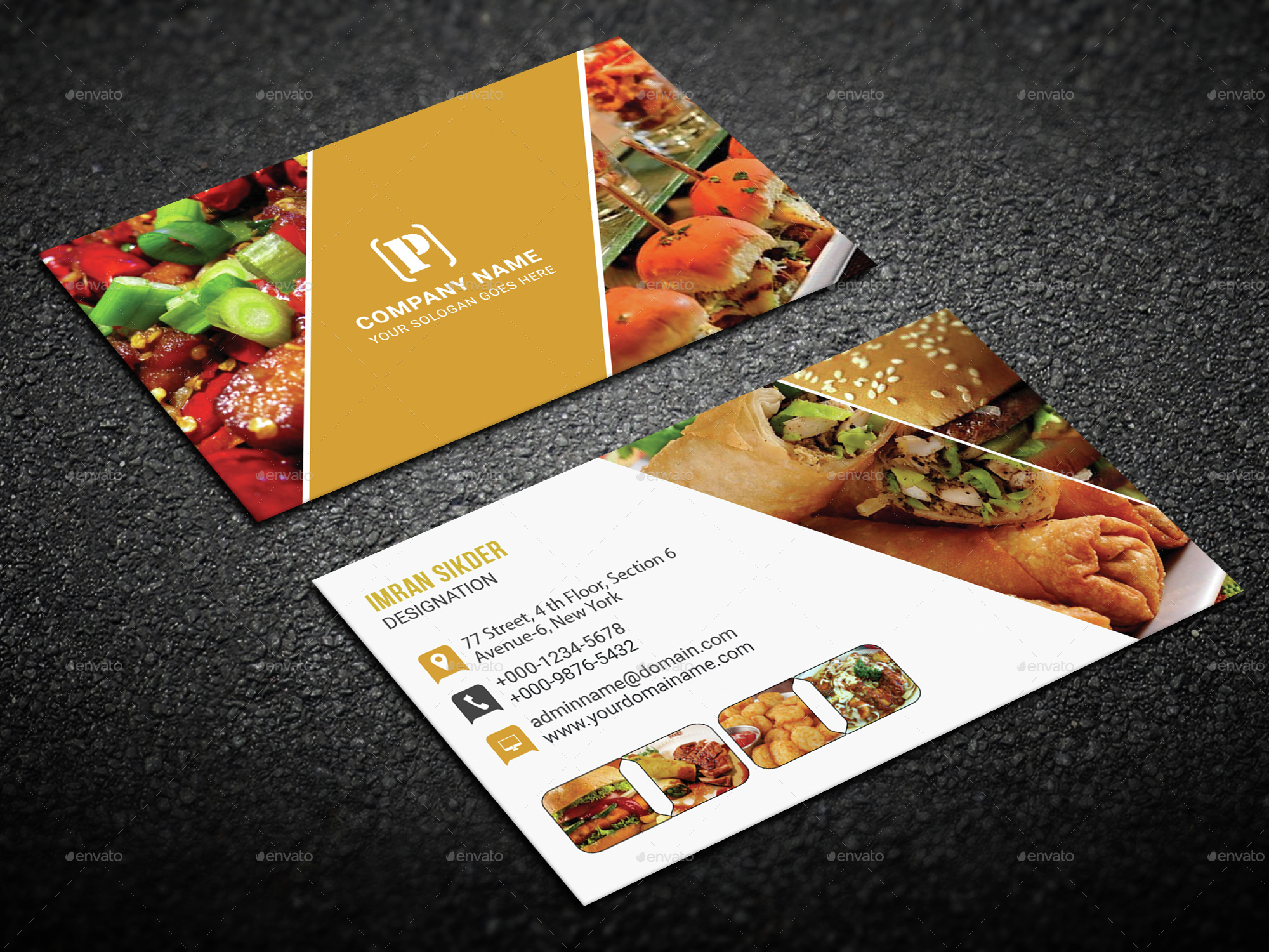 beautiful gallery of restaurant business cards business cards