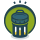 Trash Recycle Logo