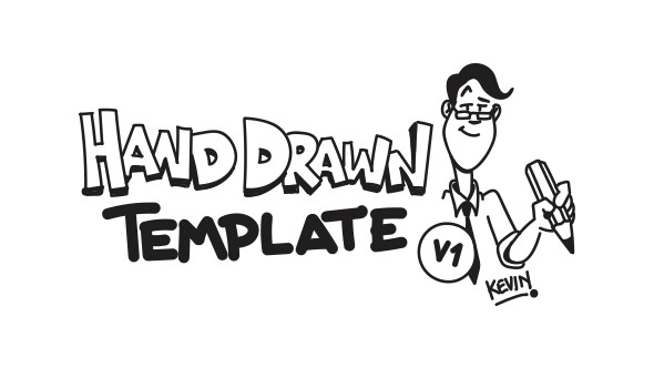 Hand Drawn Template - V1: Kevin (Commercials)
