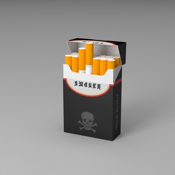 Cigarettes - 3DOcean Item for Sale