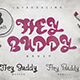 Hey Buddy! 3 Fonts