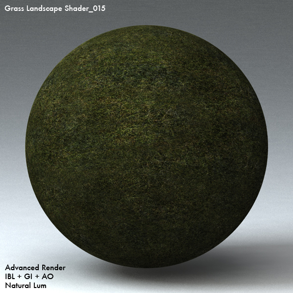 Grass Landscape Shader_015 - 3DOcean Item for Sale