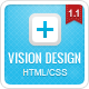 Vision Design Premium HTML Template - ThemeForest Item for Sale